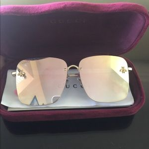 Gucci bee collection glasses